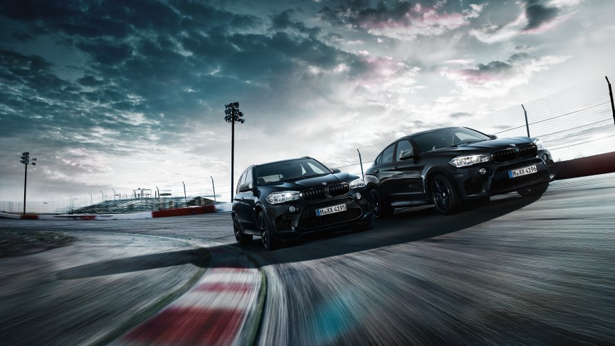 BMW X5 M a BMW X6 M Black Fire Edition
